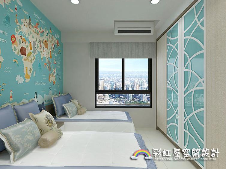 室内装潢图片,儿童房 高雄室内设计新成屋装修-50坪