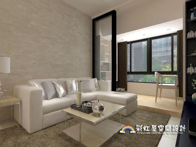 装潢图片,客厅 高雄室内设计新成屋装修-经典北欧风-室内设计家庭客